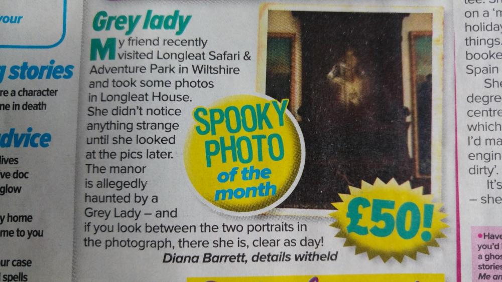 longleat gray lady hoax