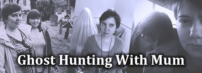 collage of ghost hunting photos