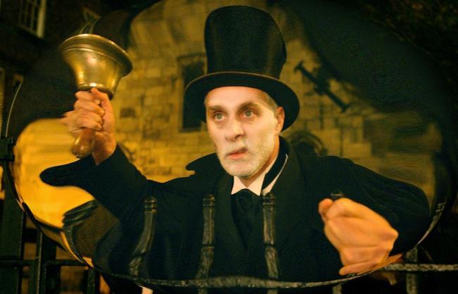 Andrew Auster in costume